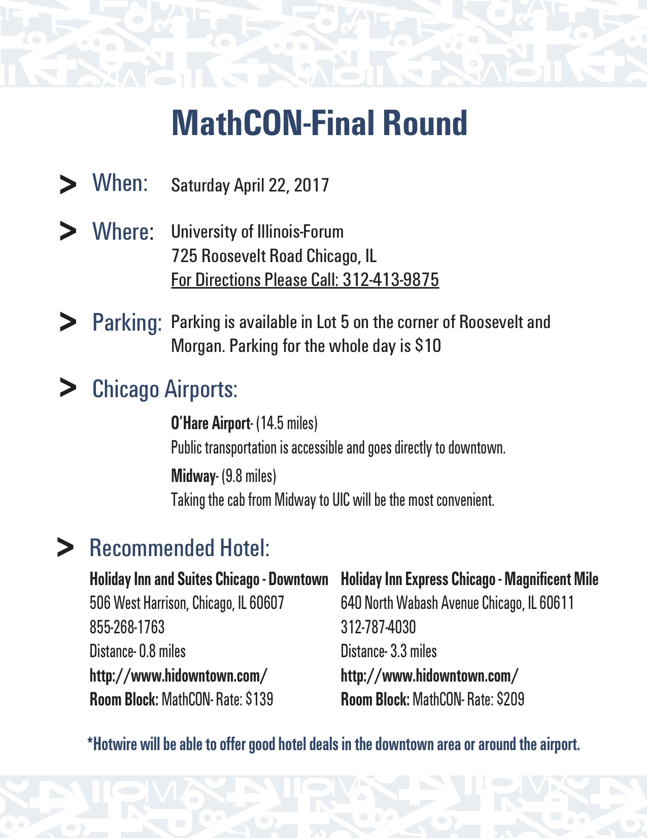 MathCon 2017 – MathCON